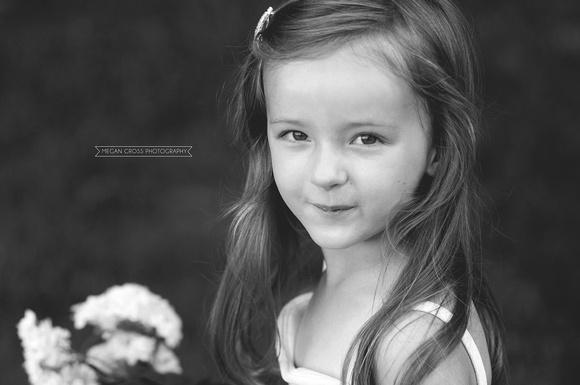 child portraiture, Bennington photographer, flower child