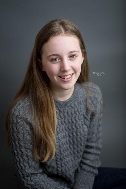 sophomore studio portraits