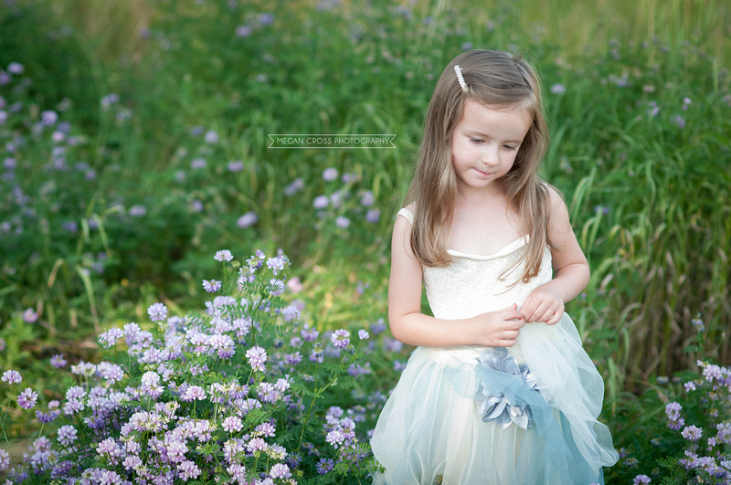 child portraiture, flower child, Bennington photographer